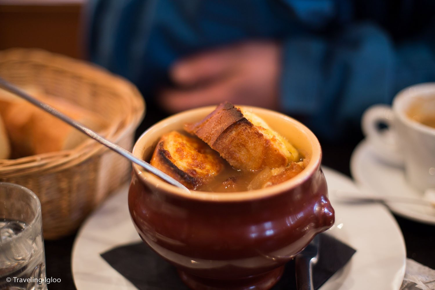 French onion soup. So amazingly delicious.